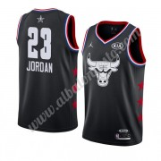 Camisetas NBA Baratas Chicago Bulls 2019 Michael Jordan 23# Negro All Star Game Swingman..